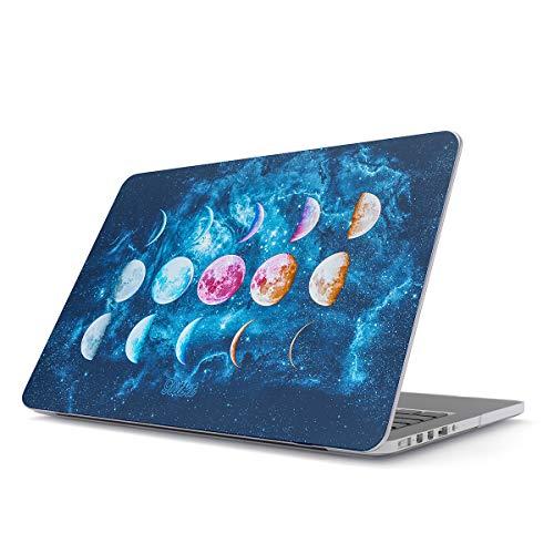 Glitbit Hülle Kompatibel für MacBook Pro 15 Zoll aus den Jahren 2016-2018, Modell: A1990 / A1707 mit Touch-Bar Galaxy Nebula Cosmic Universe Cosmos Luna Outer Space Mond Kosmos Sterne Plastik Case (Alien Macbook-hülle)