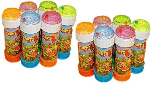 Idena 7230050 - 12 Dosen Seifenblasen (12er Packung)
