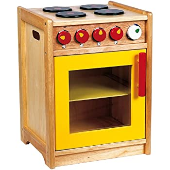 Santoys Wooden Cooker and Hob - Play Kitchen Accessories