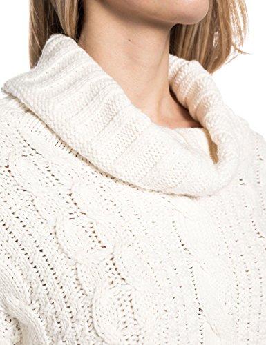 Timezone Damen Pullover Brittatz Weiß (off white 102)