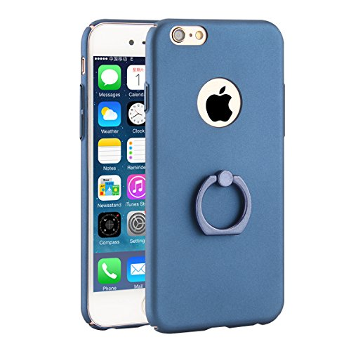 iPhone 6 Case, Danallc Premium Phone case Back Shell [ Scratch Resistant ] Cover Cases iPhone 6 Dark Blue