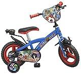TOIMSA Bicicleta para niños bajo licencia yo-Kai Watch 12pulgada (de 3a 5años, 1233u...