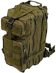Per Mochila de marcha Impermeable Camuflaje Acampada Senderismo Deporte Backpack