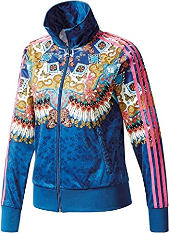 adidas Borbomix Firebird TT W Trainingsjacke multicolor (Adidas Firebird Jacke Blau)