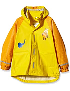 Playshoes Kinder Regenjacke, Regenmantel Maus & Elefant