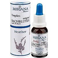 MirianaFlowers Heather 20ml Bachblüten Stockbottle preisvergleich bei billige-tabletten.eu