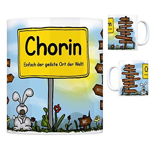 Chorin - Einfach die geilste Stadt der Welt Kaffeebecher