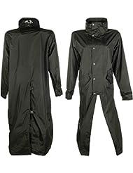 -Dublin- d'équitation HKM Manteau Long Noir Taille XL