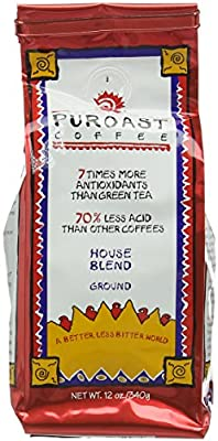 Puroast Low Acid Coffee House Blend Ground Coffee 340 g from Puroast Coffee