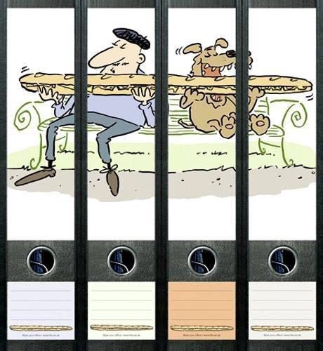 File Art AJ427 Design Etiketten Ordnerrückenschilder