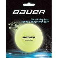 Bauer Hockey Floor Puck Glow in the Dark, talla única