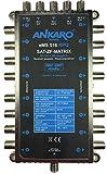 Ankaro Multischalter eMS 516 RPQ Quad und Quattro LNB tauglich- stromsparend mit ZERO-Watt Standby-Funktion