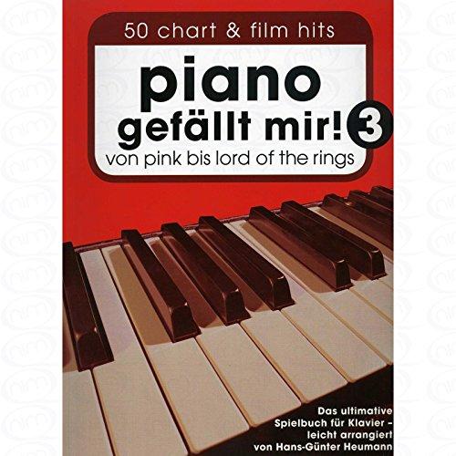 Preisvergleich Produktbild Piano gefaellt mir 3 - arrangiert für Klavier [Noten/Sheetmusic]