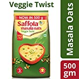 #5: Saffola Masala Oats Veggie Twist, 500gm