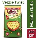 Saffola Masala Oats Veggie Twist, 500gm