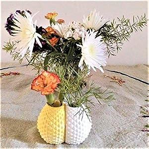 Doppel-Ananas-Vase - Keramikharz mit benutzerdefinierten Farben - exklusives Design