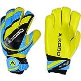 Kobo 2325 Latex Soccer Goal Keeper Gloves, 7.5-inch (Multicolour)