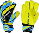 Kobo Champion Goalkeeping Gloves-(Small 7.5) / (Blue,Yellow,Black)