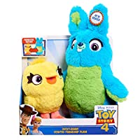 """Toy Story 4 Ducky Bunny Scented Friendship 11"""" Plush"""
