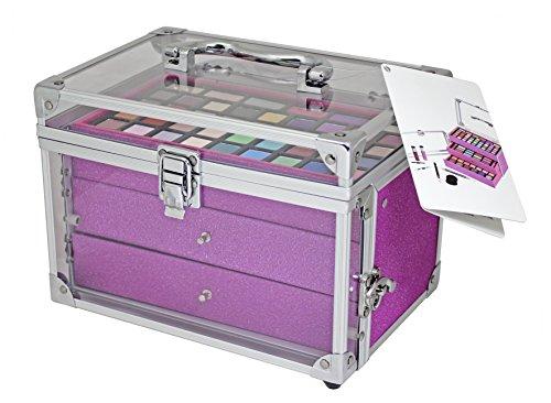 Schminkkoffer 'Acrylic meets Glitter' pink