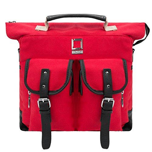 lencca-mini-phlox-canvas-rucksack-backpack-schultertasche-schultasche-schulranzen-reiserucksack-wand