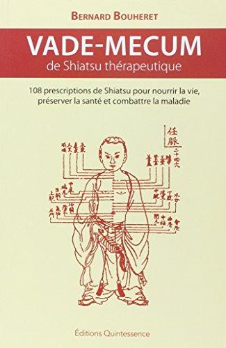 Vade-mecum de shiatsu thérapeutique
