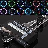 MaMaison007 Bicicleta bici ciclismo 14 rueda de 30 patrones de luz