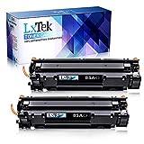 LxTek Kompatibel Toner CE285A 85A Ersatz für HP CE285A 85A (1600 Seiten) für HP Laserjet Pro P1102W P1102 M1132 M1217NFW P1100 M1132MFP M1136 M1210 M1212 M1212NF (2 Schwarz)
