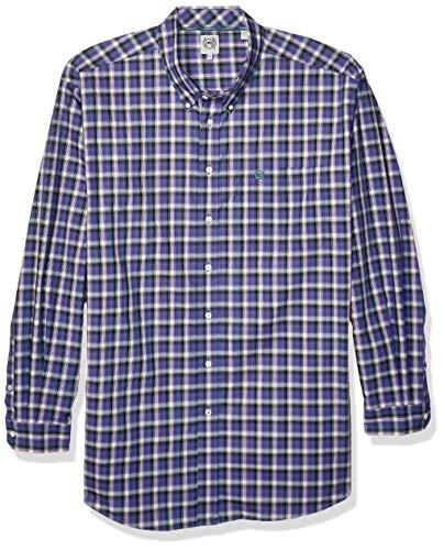 Cinch Herren Classic Fit Shirt Hemd, Prism Violet Plaid, X-Groß -