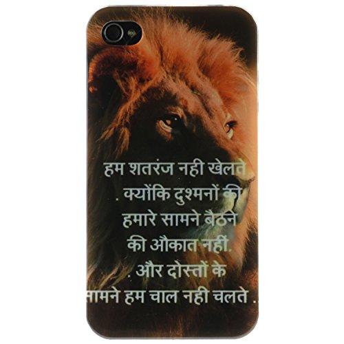 iPhone 4s Coque, MOONCASE iPhone 4s Cover Case Fit Soft Silicone Housse avec Coque de Protection en TPU Etui pour iPhone 4s - DD14 Série Colore - DD01