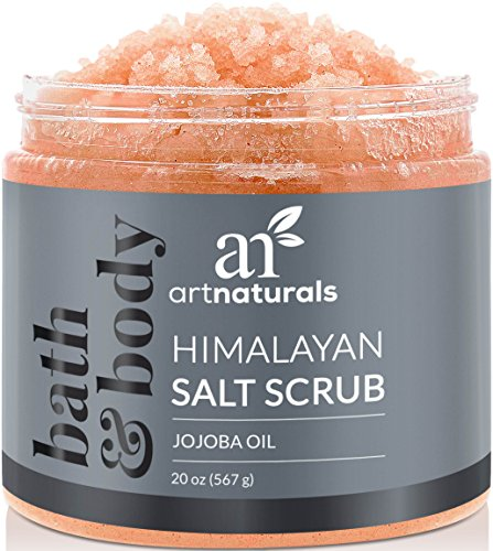 Entspannen Sie Körper Creme (ArtNaturals Himalaya-Salz Körper-Peeling Scrub - (20 Oz / 567g) - Tiefenreinigung und Exfoliation mit Sheabutter und Jojobaöl)