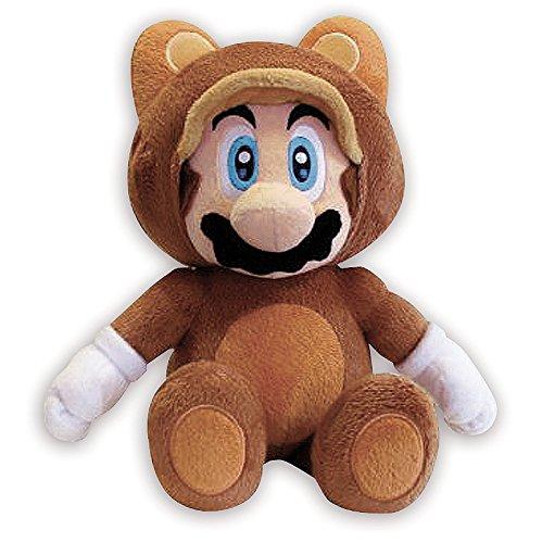 Kostüm Mario Tanooki (Nintendo Plüschfigur Mario Bros. Tanooki Mario 28cm -)