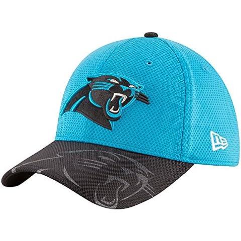 New Era Nfl Sideline 39Thirty Carpan Otc - Gorra Línea Carolina Panthers para hombre, color azul, talla