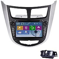 7 pulgadas t¨¢ctil de HD cubierta coche de la pantalla de m¨²sica video de radio de victorias reproductor de DVD 8 UI del coche de Hyundai / Verna / Solaris ...