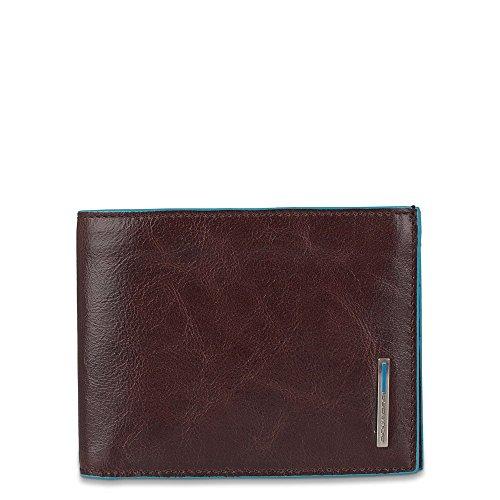 Piquadro Geldbörse Blue Square Herren Leder Mahagoni - PU4518B2R-MO -