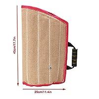 Manche de Morsure de Chien Sleeve pour Chiot Mordant Accessoire de Dressage de Chien Manche Ouverte Fournitures de Chevaux d'entraînement Bruts 45x29cm