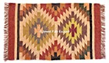 Indian 3x 2'handgewebt Kilim Kelim Teppich Läufer Teppich Rig für Home Dekorative Jute Teppich handgefertigt Jute Teppich Handgewebt Jute ruhg Kelim Teppiche groß Kelim Teppiche handgewebte Jute Flickenteppich