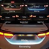 DELHITRADERSS Flow Led Strip Trunk Light for Car Dicky, Standard, 4ft