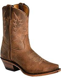 Botas de los EE.UU.-Botas, botas de cowboy BO-2617-50-C (pie normal), diseño de mujer, color marrón