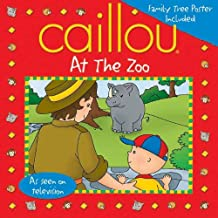 Caillou At the Zoo: Fun Poster Included (Playtime)