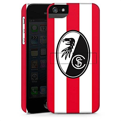 Apple iPhone X Silikon Hülle Case Schutzhülle SC Freiburg Fanartikel Fußball Premium Case StandUp
