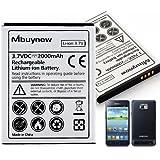 Mbuynow� 2000mAh Batterie Ersatzakku Akku Accu Battery f�r Samsung Galaxy S2 i9100, i9105, i9105P, i9103