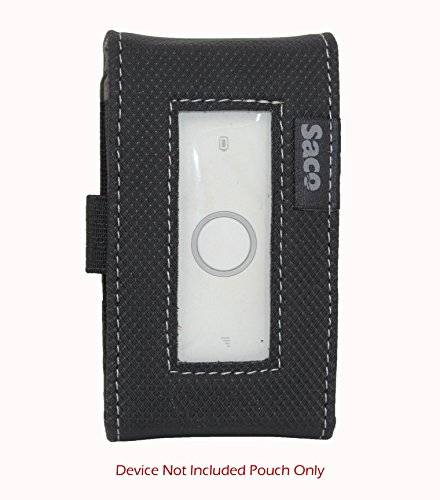 Saco Pouch for Huawei E5573s-606 Airtel 4G Hotspot LTE Mifi-Wifi Router-(Black)  available at amazon for Rs.180