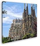 deyoli die Kathedrale Sagrada Familia in Barcelona Format: