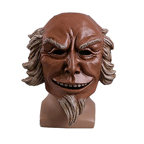 ce Program 3 Cos Maske Uncle Sam Maske Spiel Halloween-Maske Requisiten,UncleSam-OneSize (Halloween Clearance)