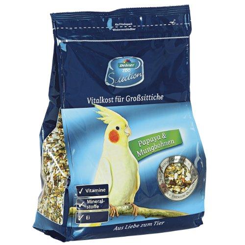 Dehner Selection, Großsittichfutter, 1er Pack (1 x 2 kg)