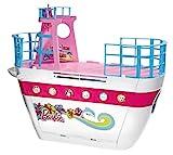 Barbie Mattel X3209 Party-Kreuzfahrtschiff, zusammenklappbar, mit viel Zubehör
