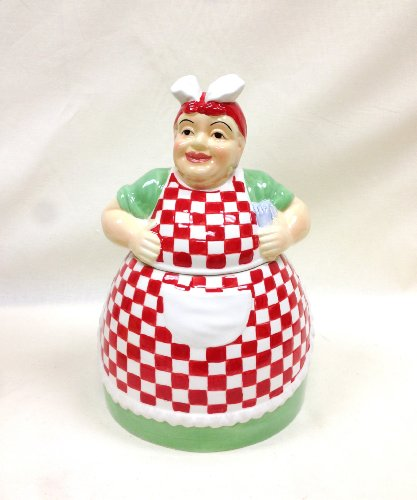 aunt-jemima-ceramic-cookie-jar-canister-12h-80981-by-ack-by-ack