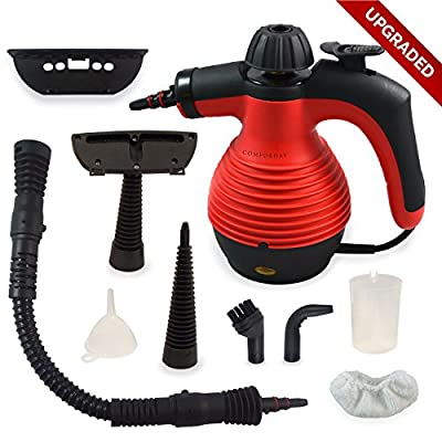 UPGRADED Handheld Multi-Purpose Steam Cleaner and Sanitizer with Safety Lock for Stain Removals UK PLUG
