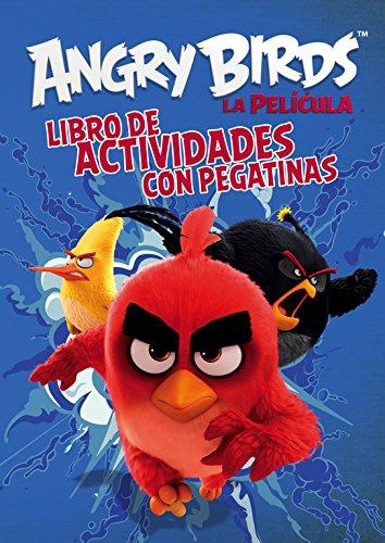 Angry Birds, La película. Libro de colorear con actividades por VV.AA.